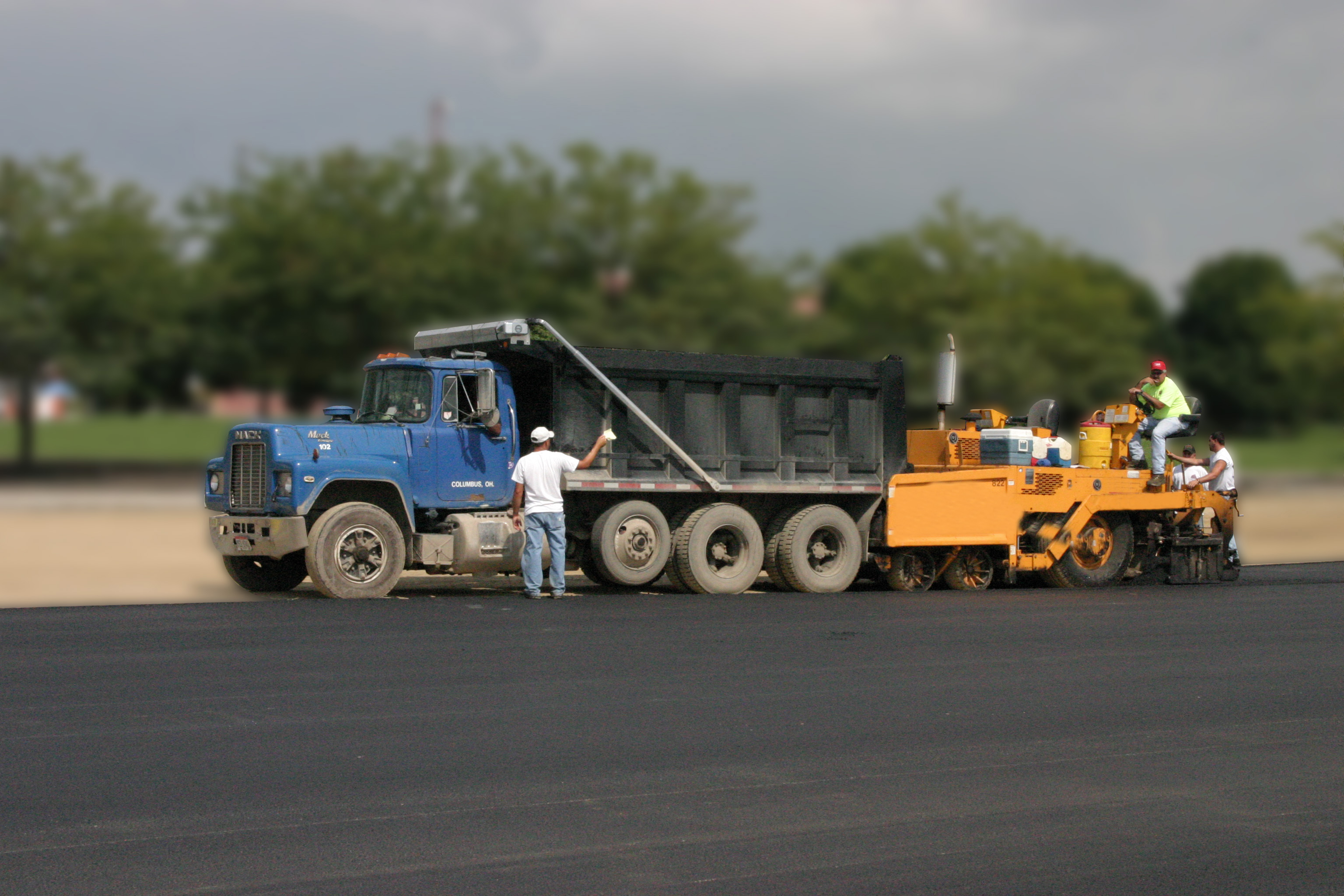 PCI Consultants, Inc. Pavement Construction Asphalt Example